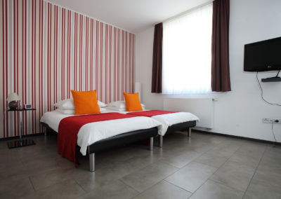 Schlafzimmer Ferienwohnung in Köln