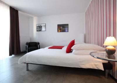 Schlafzimmer Ferienwohnung, Köln