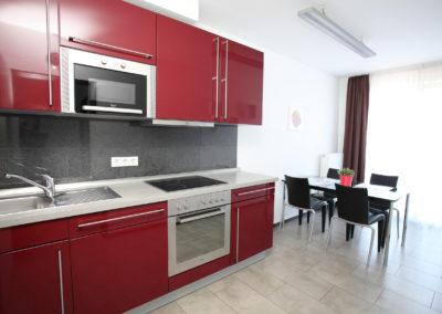 Küche Ferienwohnung in Köln