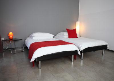Schlafzimmer in Ferienwohnung Köln