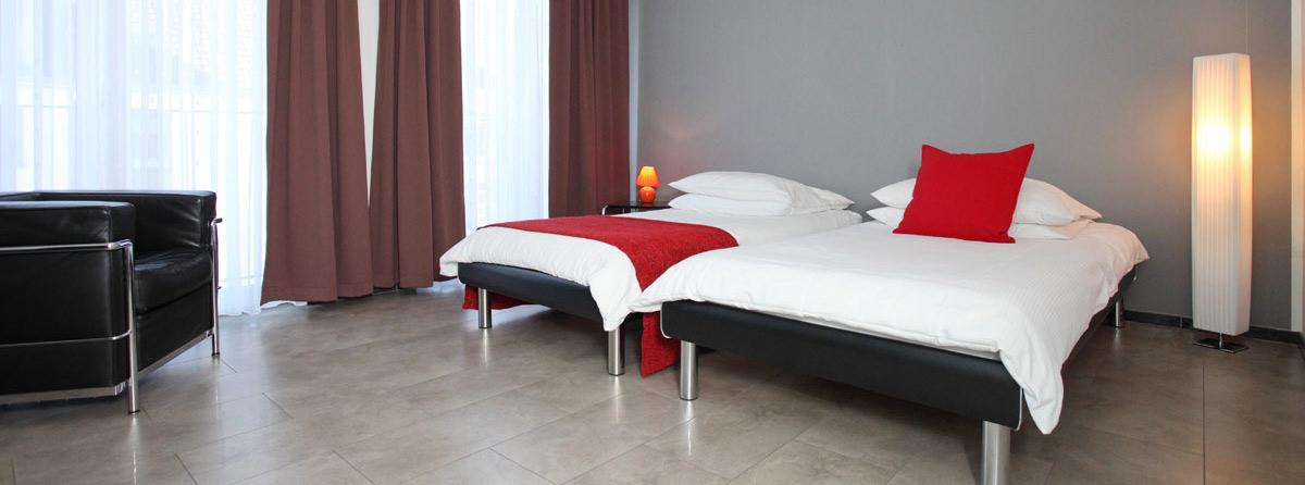 Wohnungstypen und Größen: Beispiel einer Zweizimmer-Fewo